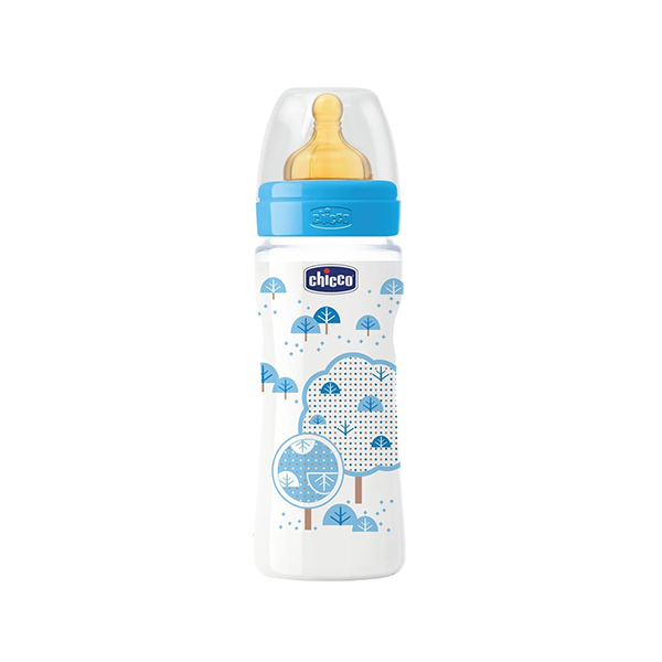 chicco-biberon-well-being-latex-4m+-330ml